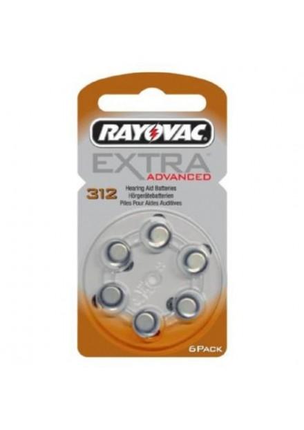 Rayovac Extra Advanced gehoorbatterij H312 BRUIN