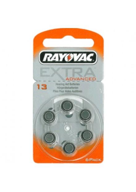 Rayovac Extra Advanced gehoorbatterij H13 ORANJE