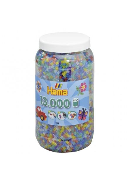 Hama StrijkkralenTon 13000 Stuks Glitter