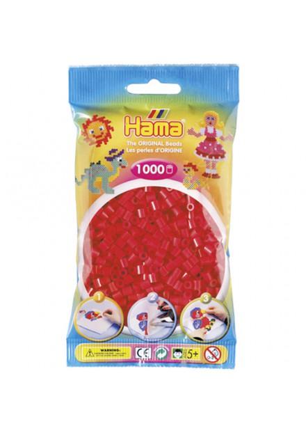 Strijkkralen Hama 1000 Stuks rood 05