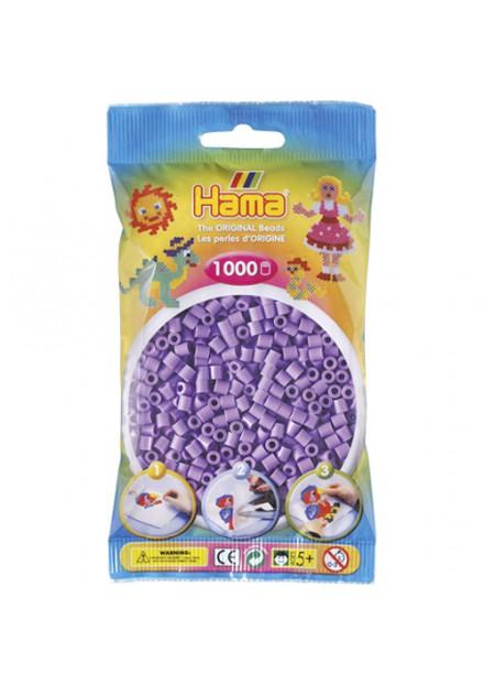 Strijkkralen Hama 1000 Stuks paars 07