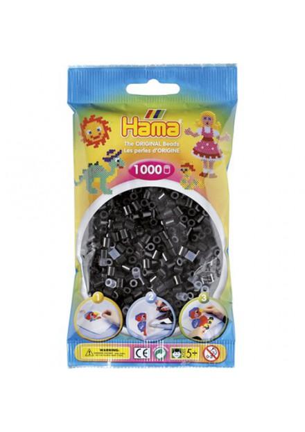 Strijkkralen Hama 1000 Stuks zwart 18