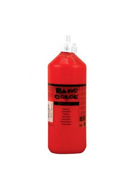 Plakkaat verf Rood 500 ml