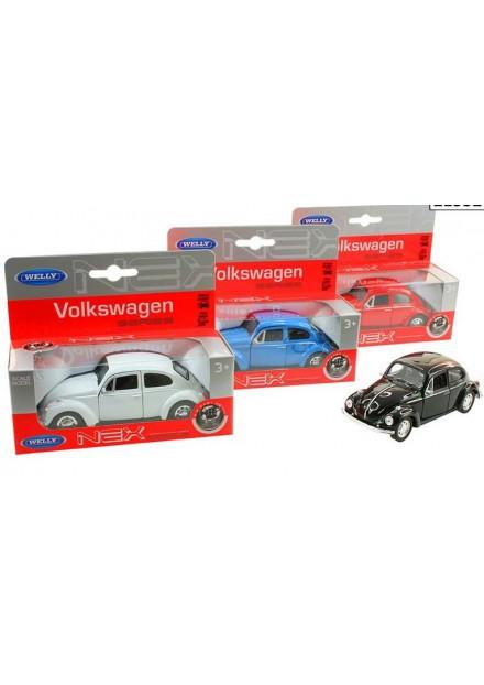 Auto VW kever 12cm   wit
