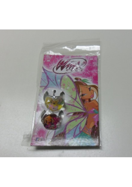 Winx ringen Bloom  2 stuks plastic