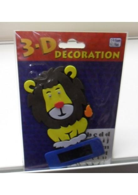 3D decoration leeuw