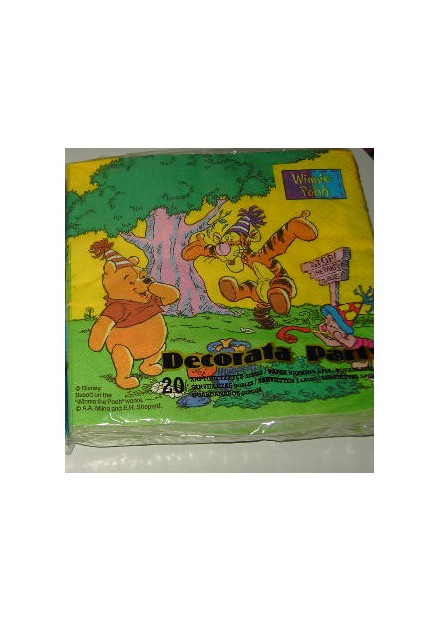 Winnie de pooh servetten 20 stuks