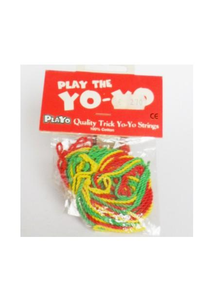 jojo touwtjes 6 stuks gekleurd