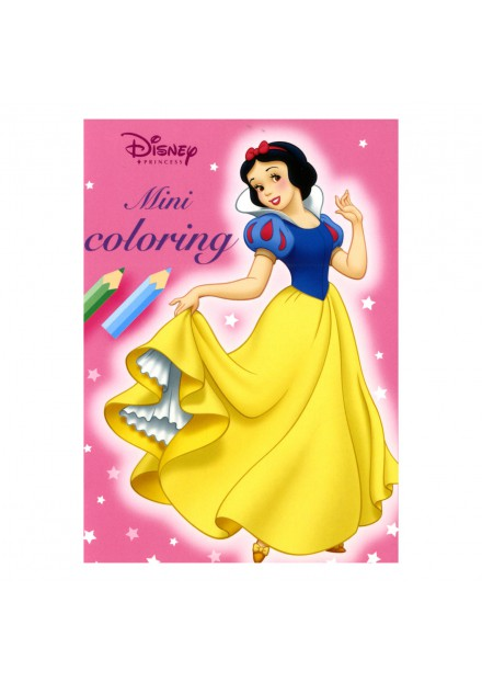 Disney mini coloring Princess roze