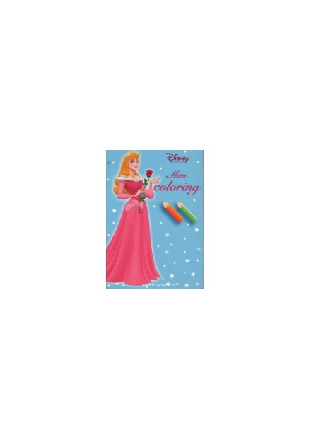 Disney mini coloring Princess blauw