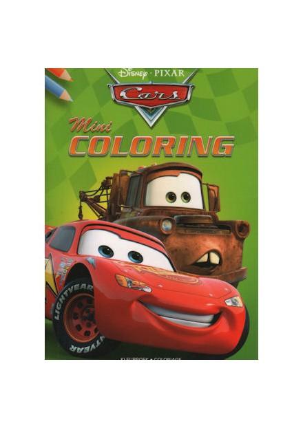Disney mini coloring Cars groen