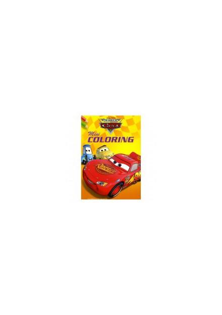 Disney mini coloring Cars geel