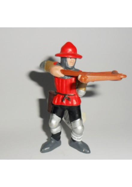 Ridder soldaat kruisboog Bullyland  rood