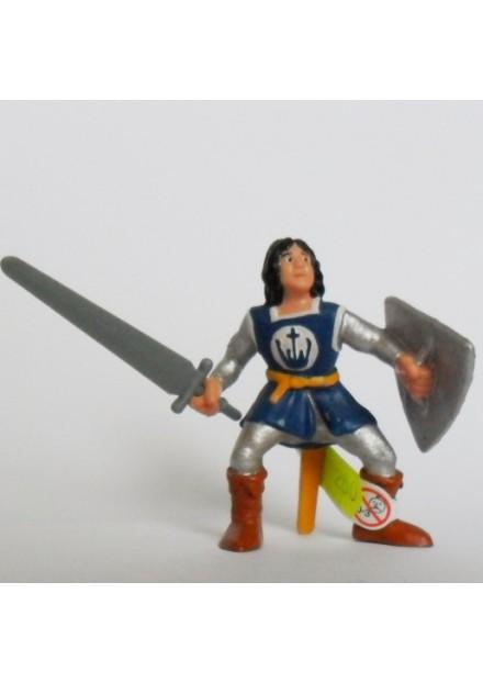 Ridder met zwaard en schild Bullyland blauw