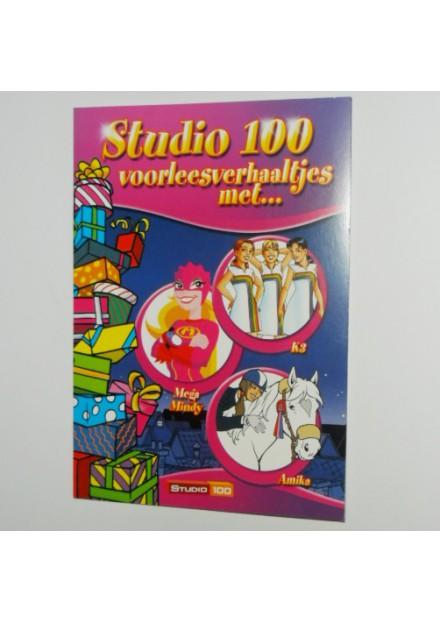 Studio 100 voorleesverhalen K3,Mega Mindy en Amika
