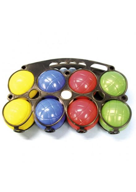 Jeu De Boules 8 Plastic Ballen In Houder