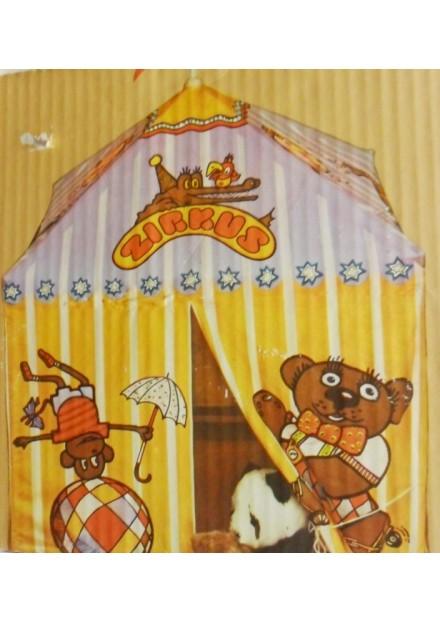 Tent stof met houten frame Circus