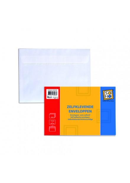 Enveloppen 50 stuks zelfklevend