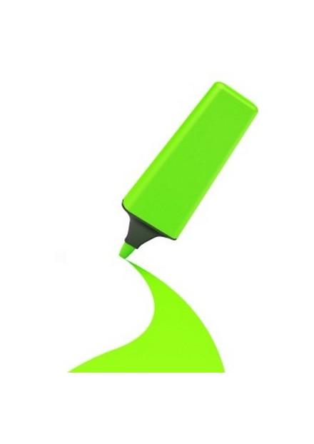 tekst marker groen