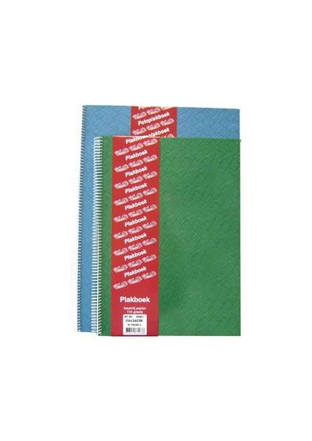 Plakboek 24 x 34cm vlechtpersing