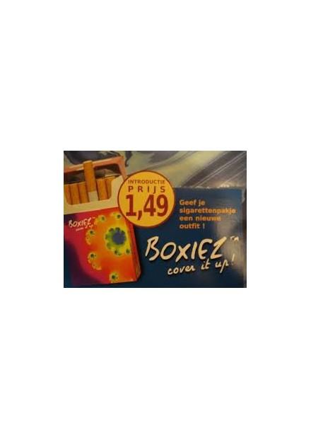 Hoesje voor sigaretten pakje 20 Boxiez
