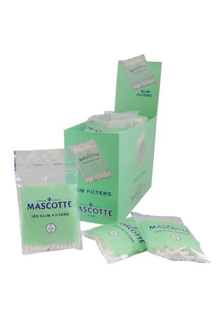 Mascotte slim filter 120 stuks 6mm