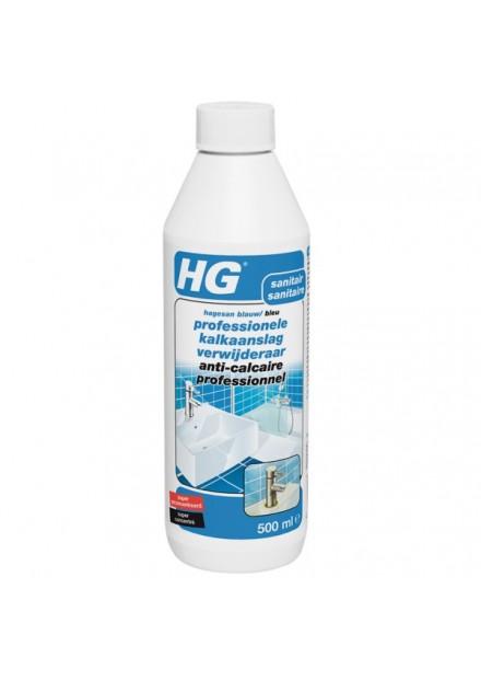HG professionele kalkaanslag verwijderaar (hagesan blauw) 500 ml