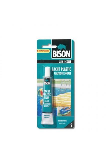 BISON ZACHT PLASTIC LIJM 25 ML
