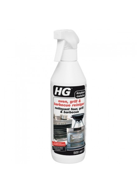 HG oven, grill & barbecue reiniger 500ml