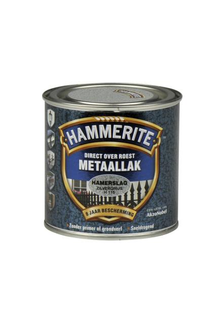 HAMMERITE HAMERSLAG 250 ML H115 ZILVERGRIJS