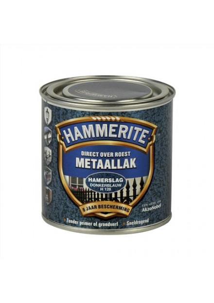 HAMMERITE HAMERSLAG 250 ML H128 Donker blauw