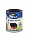 FLEXA STRAK IN DE LAK BUITEN HG 750 ML ZWART