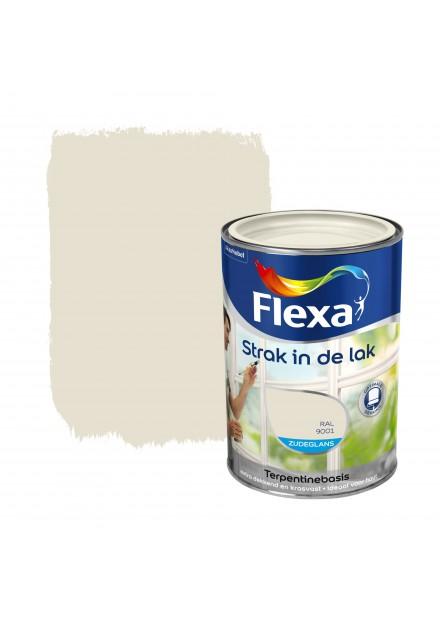 FLEXA str.i.d.lak BUITEN Zijdeglans 750 ML RAL9001