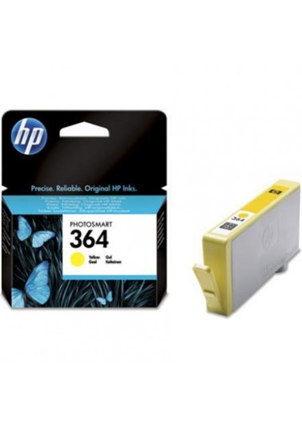HP 364 (CB318EE) inkjet cartridge Geel (origineel)