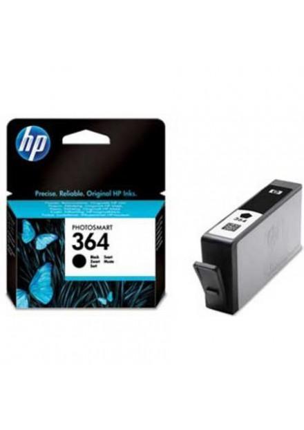 HP 364 (CB318EE) inkjet cartridge black (origineel)
