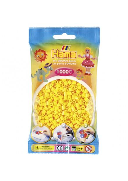 Strijkkralen Hama 1000 Stuks Geel