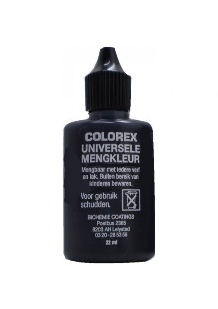 COLOREX MENGKLEUR 22 ML  ZWART