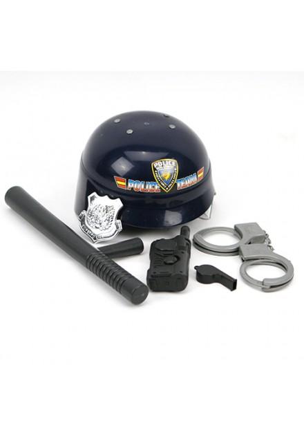 Politieset helm