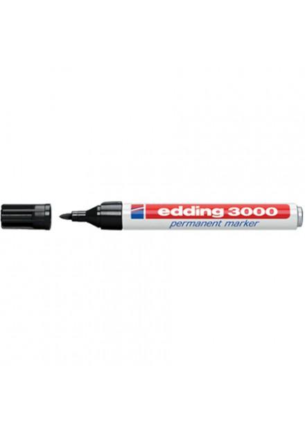 Edding 3000 zwart 1,5-3mm