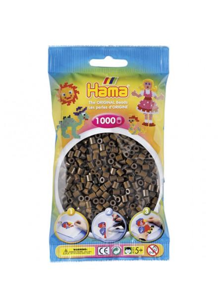 Hama Strijkkralen 1000 Stuks Choco