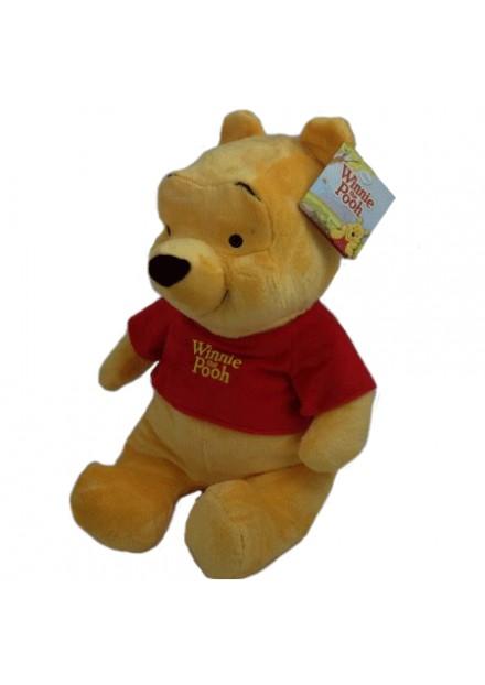 Disney pluche Winnie de Pooh 21 cm