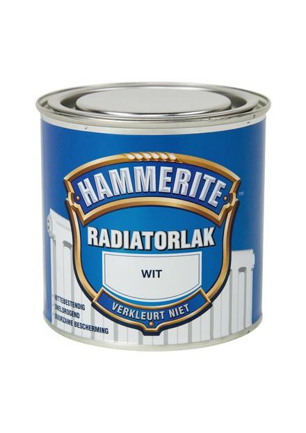 HAMMERITE RADIATORLAK KLEURVAST wit 250 ML
