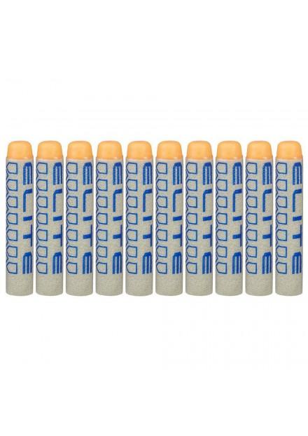 Nerf Elite 10 Pak New Deco Darts orange dop