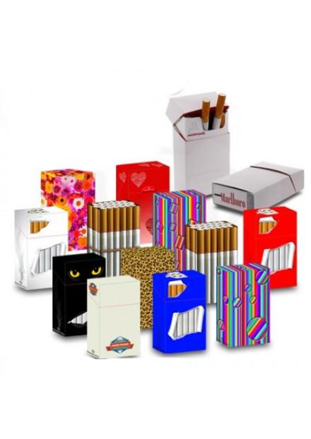 Hoesje voor sigarettenpakje 20 box met klepje