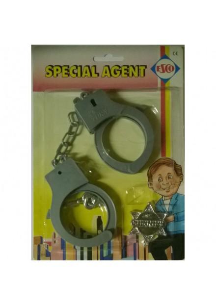 Special agent handboeien plastic