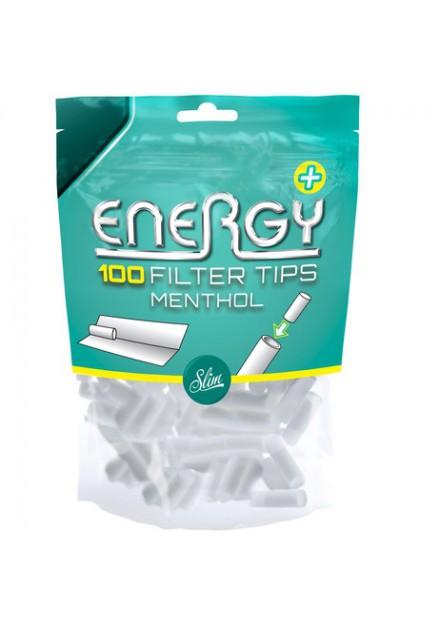Energy Menthol Filter Tips 100 ST