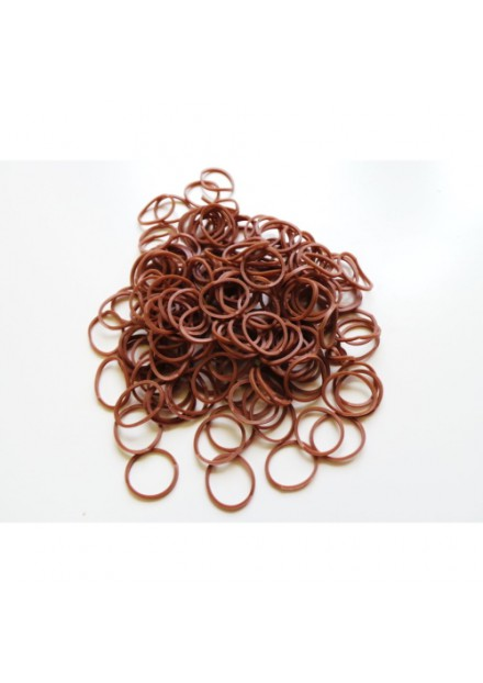 Loom Bands  300 kleur Bruin