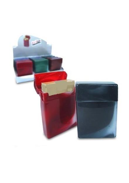 Plastic Sigaretten box 25 stuks