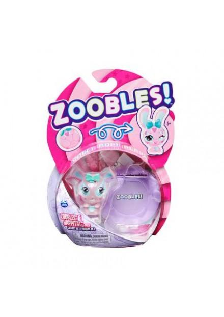 ZOOBLES 1 PACK Hoppy Heartz Bunny